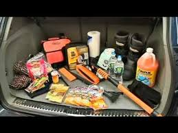 Emergency Car Safety Kits - They could save your life!